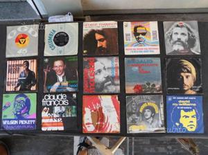 Lotto 28 dischi 45 giri vinile cantanti stranieri