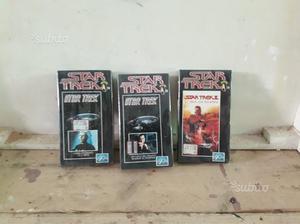 "Lotto 37 videocassette vhs ""star trek"" - sigillate"