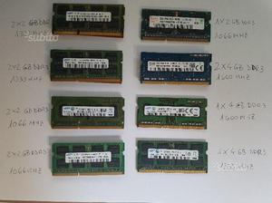 Moduli SODIMM DDR3