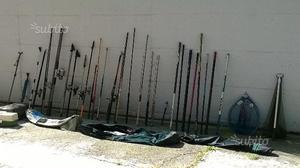 Canne da pesca, mulinelli e accessori