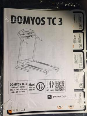 Tapis roulant Domyos TC 3
