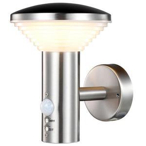 Luxform Luce a LED Giardino Parete Sensore PIR Trier 230 V