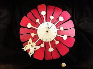Orologio da parete Arti & Mestieri Butterfly - Nuovo