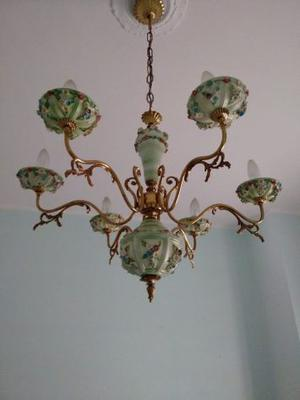 Lampadario Ceramica Di Vietri.Lampadario In Finissima Ceramica Di Vietri Posot Class