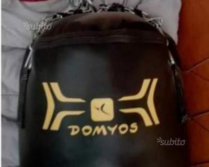 Sacco da BOXE Domyos Nero e Giallo