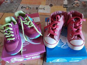 Coppia scarpe canguro da bimba n. 24