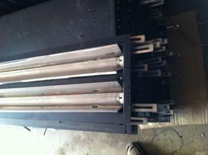 10 plafoniere da 120 cm con 2 tubi al neon