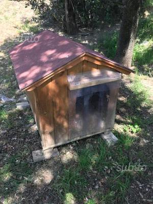Cucce in legno cuccia coibentata recinzioni box posot class for Cuccia cane coibentata