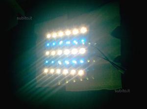 Plafoniere A Led Blu : Plafoniera a sospensione 1 x 150 watt e led blu posot class