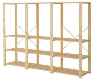 Scaffali pesanti per magazzino o ricambistica posot class - Scaffali ikea legno ...