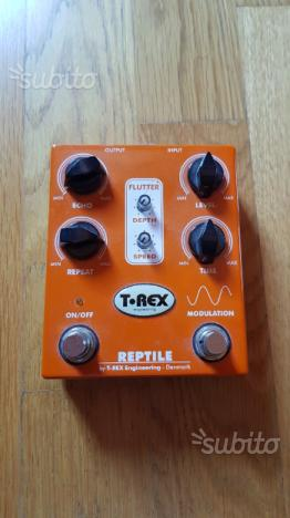 T Rex Reptile delay
