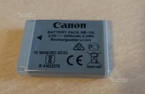 Batteria fotocamera Canon