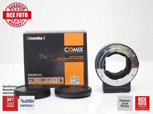 Comix lens adapter eipro per lenti nikon su sony