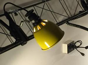 Lampada per fotografia lupo quadrilight con posot class