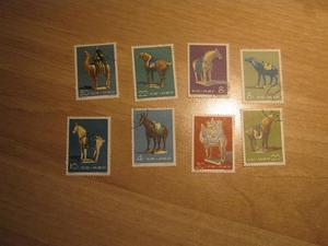 Lotto di francobolli cinesi Euro 40