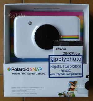 POLAROID Snap Fotocamera Digitale Stampa ZINK 10Mp