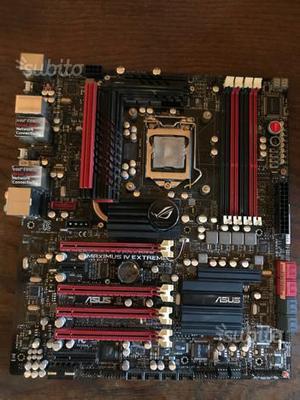 Vari pezzi pc gaming Motherboard + Cpu + RAM ecc