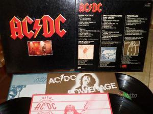 AC/DC (High Voltage, Dirty Deeds., Powerage) 3 LP