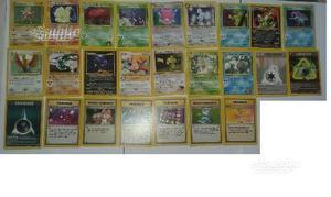 Carte Pokemon rare, holo e non solo