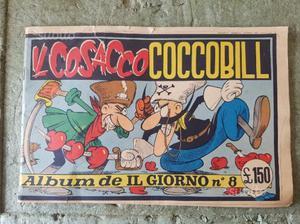 Coccobill Il Cosacco Fumetto a colori n.8 del