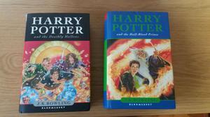 Harry Potter 2 libri versione inglese PRIMA EDIZIONE