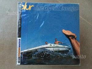 Japan mini lp cd blur - the great escape - con obi