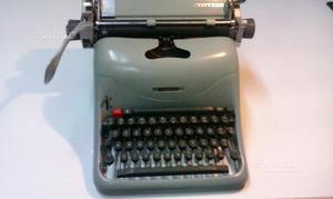 Macchina per scrivere olivetti lexicon 80