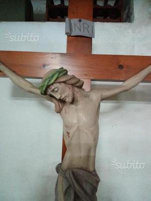 Statua Gesù Cristo in croce