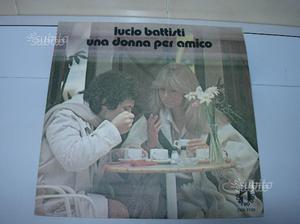 Vinile Lucio Battisti 45 giri Una donna per amico