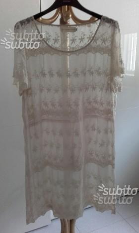 4loveandliberty vestito in seta 100 originale