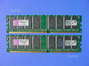 Memoria RAM 2GB DDR 400 KINGSTON
