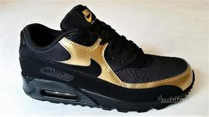 air max 90 nere e oro