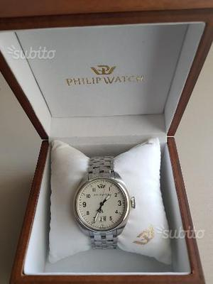 Orologio Philip Watch Box in legno originale