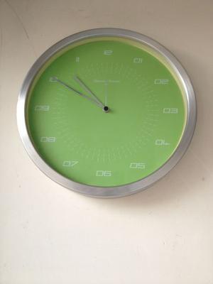 Orologio a parete acciaio