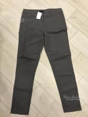 Pantaloni donna grigio taglia 48