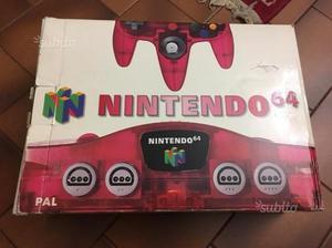 Console Nintendo 64 rosso PAL