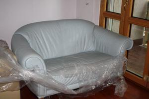 Coppia di divani in pelle Divani&Divani