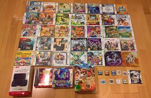 Giochi Nintendo 3DS/DS/Gameboy/Pokemon/Mario