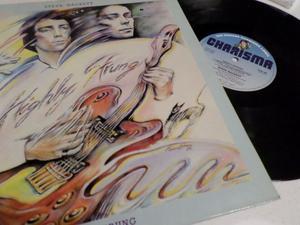 STEVE HACKETT (Genesis) - Highly Strung - LP / 33 giri