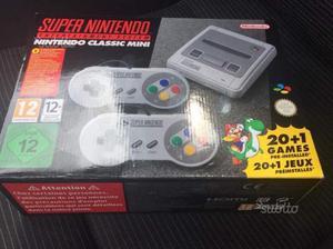 Super Nintendo Classic Mini SNES - NUOVO IMBALLATO