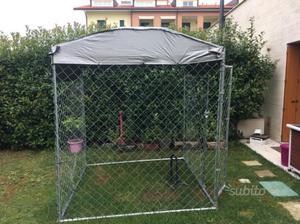 Gabbia da esterno per cani