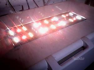 Plafoniere Tonde A Led : I exagonpl plafoniera con luci led e decori posot class