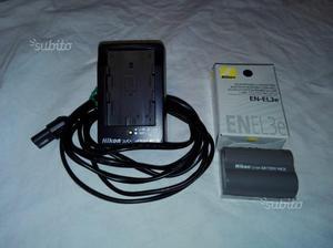 Batteria Nikon EN-EL 3e + caricatore