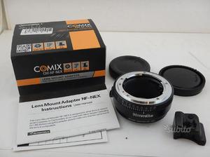 Comix CM-NF-NEX Nikon F a Sony E Mount Adattatore