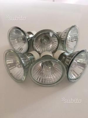 Lampadine alogene 50w luce calda