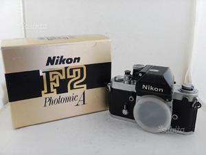 Nikon F2 Photomic A + Scatola Originale