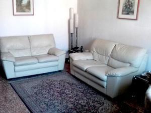 due divani in pelle 2 posti