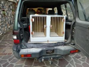 Cassa trasporto 4 cani