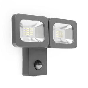SMARTWARES Doppio Faretto di Sicurezza a LED 2x12 W Nero