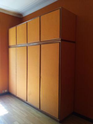armadio in legno cm 62 x 266 x h 269